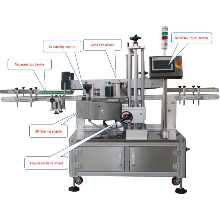 Automātiska kartona kastes stūra marķēšanas mašīnas informācija