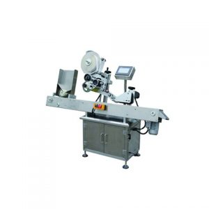 Pouch Top Surface Labeling Machine