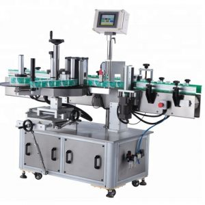 Automatic Round Bottles Labeling Machine Packaging Line