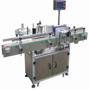 High Accuracy Label Machine For Round Glass Bottles