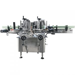Automatic Double Sides Labeler Round Bottle Labeling Machine