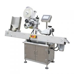 Automatic Cup Top Side Labeling Machine China Manufacturer