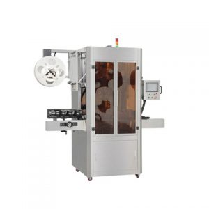 Shrink Sleeve Labeling Machine With Shrink Tunnel