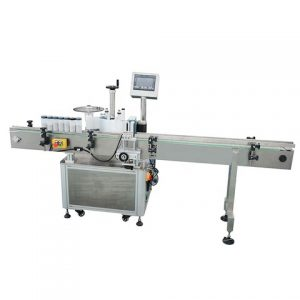 Automatic Snack Box Top Surface Sticker Labeling Machine