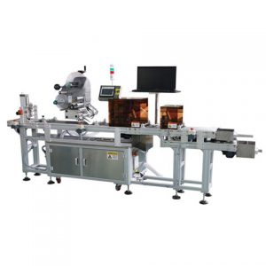 Double Servo Driven Labeler For Bottles And Cans