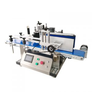 Paper Card Labeling Machine With Feeding