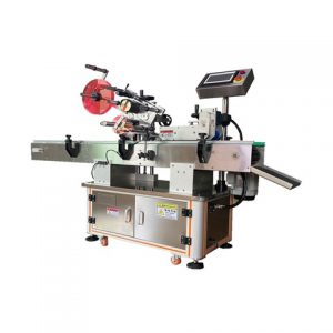 Fixed Position Oil Bottle Labeling Machine