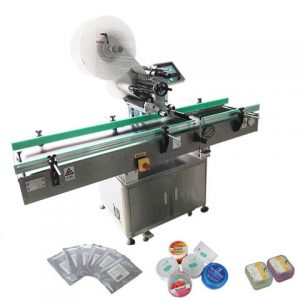 Cans Sticker Labeling Machine