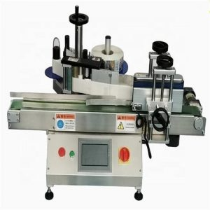 Linear Automatic Food Cans Labeling Machine