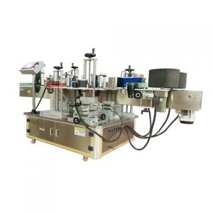 Two Labeling Heads Shrink Sleeve Labeling Machinery