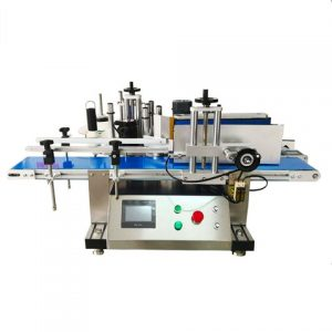Lube Oil Labeling Machine Double Side Labeling Machine