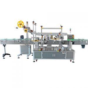 Automatic Coating Bucket Orientation Wrap Around Labeling Machinery