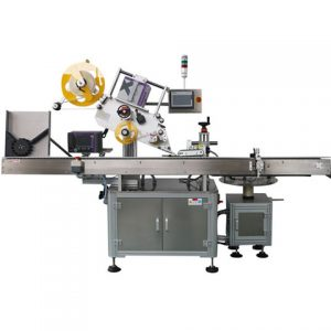 Automatic Bottle Labeling Machine Trophy Adhesive Sticker Labeler