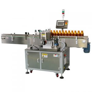 Automatic Double Sides Labeling Machine Round Bottle Labeler
