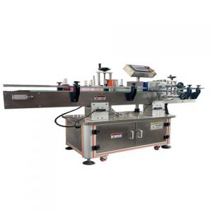 Flat Bottle 3 Side Wrapping Around Labeling Machine