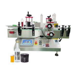 Automatic Suqare Bottle Single Side Adhesive Labeling Machine