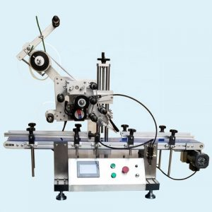 Automatic Tabletop Two Labeling Heads Sticker Labeling Machinery