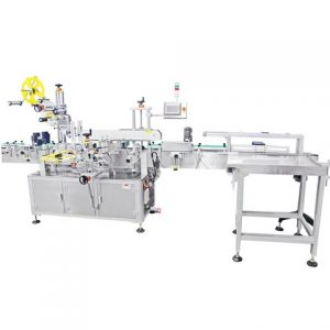 Industrial Wax Crayon Labeling Machine With Sticker