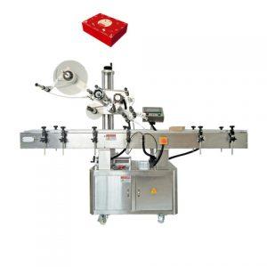 Kvadrātveida burciņu marķēšanas mašīna rūpnieciskai