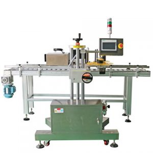Automatic Round Liquid Vial Label Pasting Machine