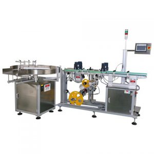 Cleaner Liquid Bottle Labeling Machine Chinese Factory