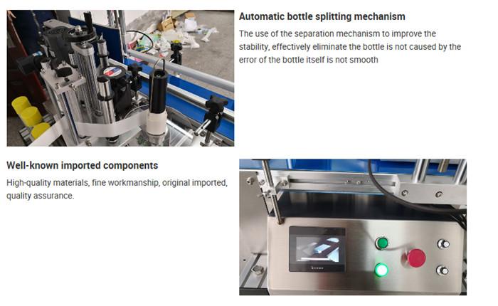 Automātiska galda pudeles marķēšanas mašīnas informācija