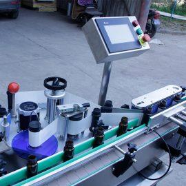 Automātiska vertikālas apaļas pudeles uzlīmes marķēšanas mašīnas detaļas