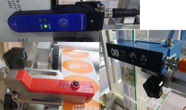 Importēt etiķetes sensoru