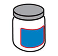 Apaļas pudeles marķēšana